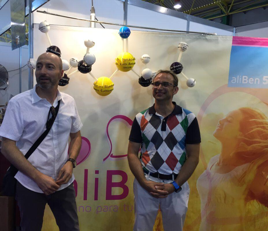 Presentación de Aliben en la Feria Internacional del Ajo 2017, Las Pedroñeras