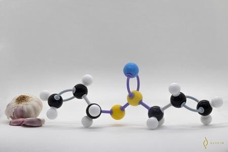 Molécula de la Alicina