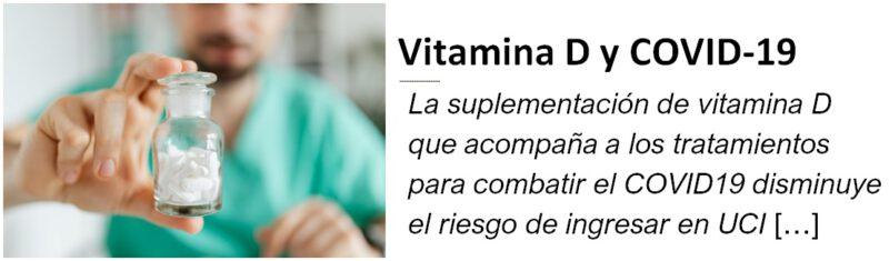 Miniatura Vitamina D y COVID19